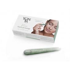 Кварцевая палочка из зеленого авантюрина для косметического массажа - Yon-ka Massage Crystal