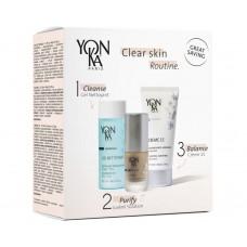 Косметический набор - Yon-ka Clear Skin Routine