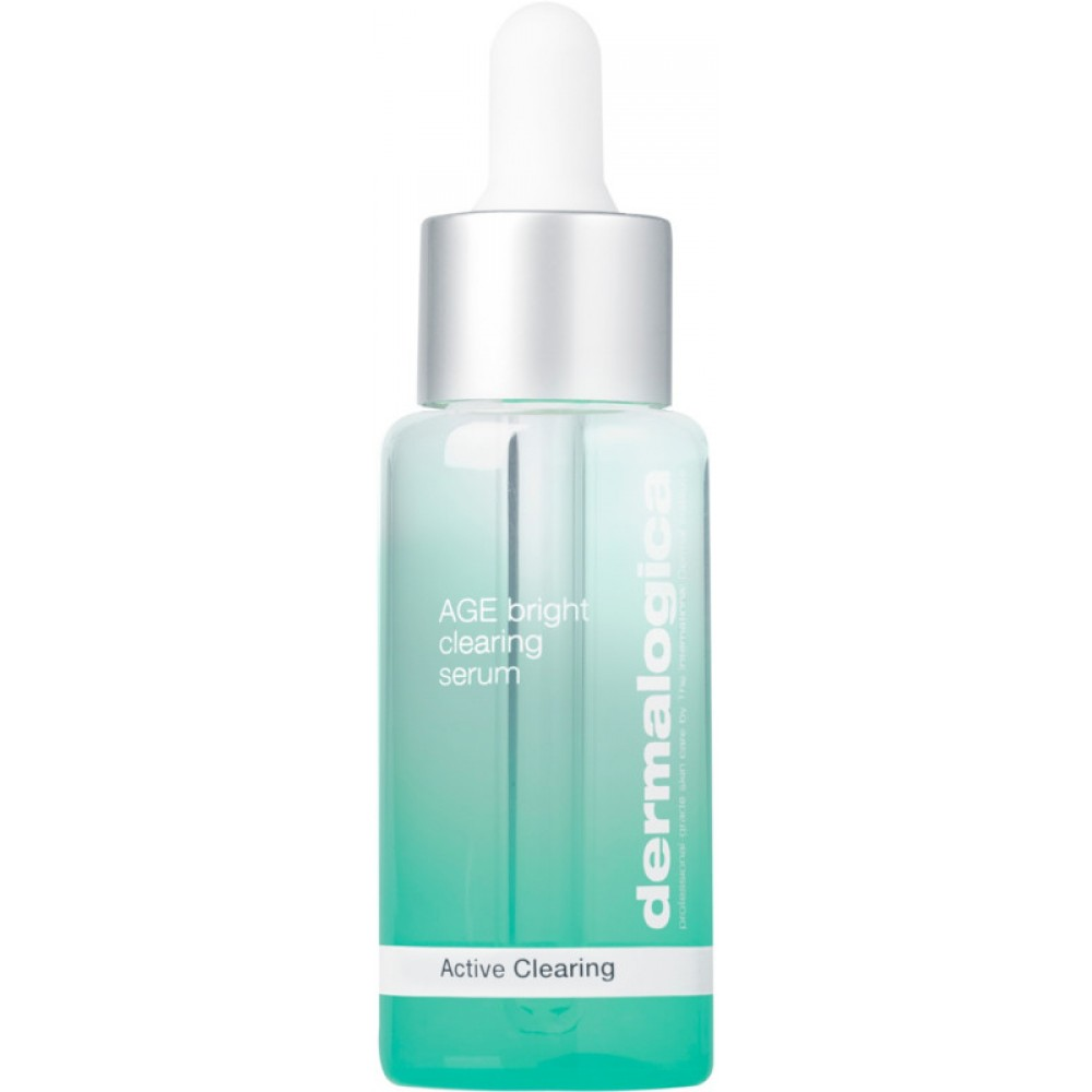 Антивозрастной очищающий серум -Dermalogica  age bright clearing serum