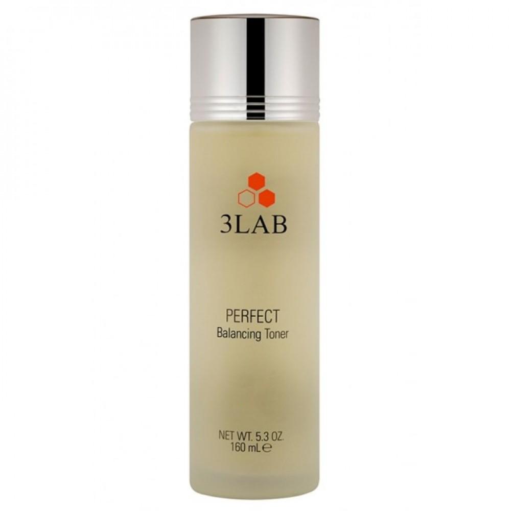 Зволожуючий баланс-тонік для обличчя - 3Lab Perfect Balancing Toner