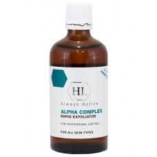 Химический пилинг - Holy Land Cosmetics Alpha Complex Rapid Exfoliator 8%