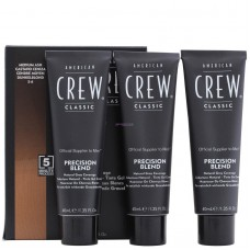 Система маскировки седины - American Crew Classic Precision Blend Medium Natural