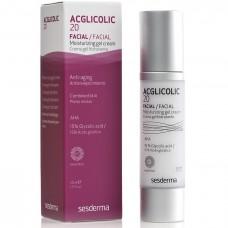 Увлажняющий крем-гель - SeSDerma Acglicolic 20 Moisturizing Gel Cream