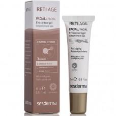 Гель-контур для кожи вокруг глаз - SeSDerma Reti-Age Eye Contour Gel