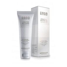 Зубная паста  «NANO отбеливающая для чувствительных зубов с гидроксиапатитом» - WhiteWash Laboratories