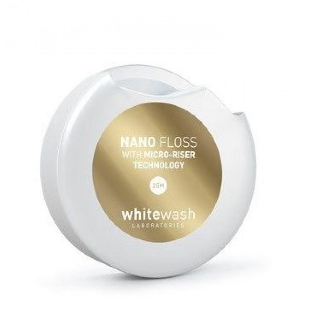 Зубная нить–флосс  « NANO  флосс, расширяющийся» - WhiteWash Laboratories Nano
