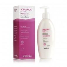 Очищающее молочко - SeSDerma Acglicolic Classic Facial Cleansing Milk