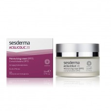 Увлажняющий крем для лица - SeSDerma Acglicolic 20 Moisturizing Cream SPF 15