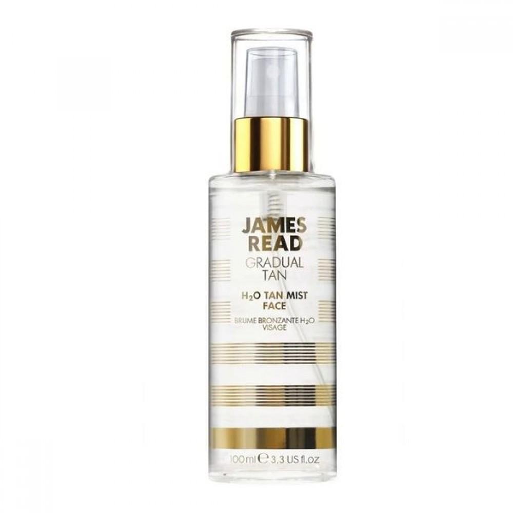 Спрей для лица с эффектом загара - James Read H2O Tan Mist Face