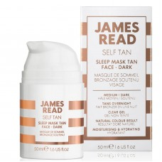 Ночная маска для лица с эффектом загара - James Read Sleep Mask Tan Go Darker Face