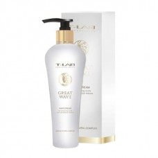 Крем для волос для ошеломляющих завитков и замечательных локонов - T-LAB Professional Great Wave Hair Cream