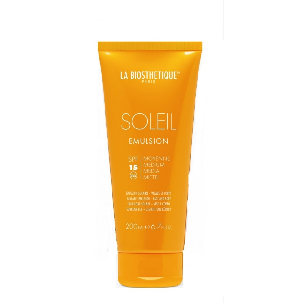 Водостойкий ухаживающий крем для комплексной защиты чувствительной кожи - La Biosthetique Emulsion SPF 15
