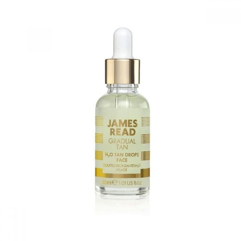 Капли-концентрат для лица с эффектом загара - James Read H2O Tan Drops Face
