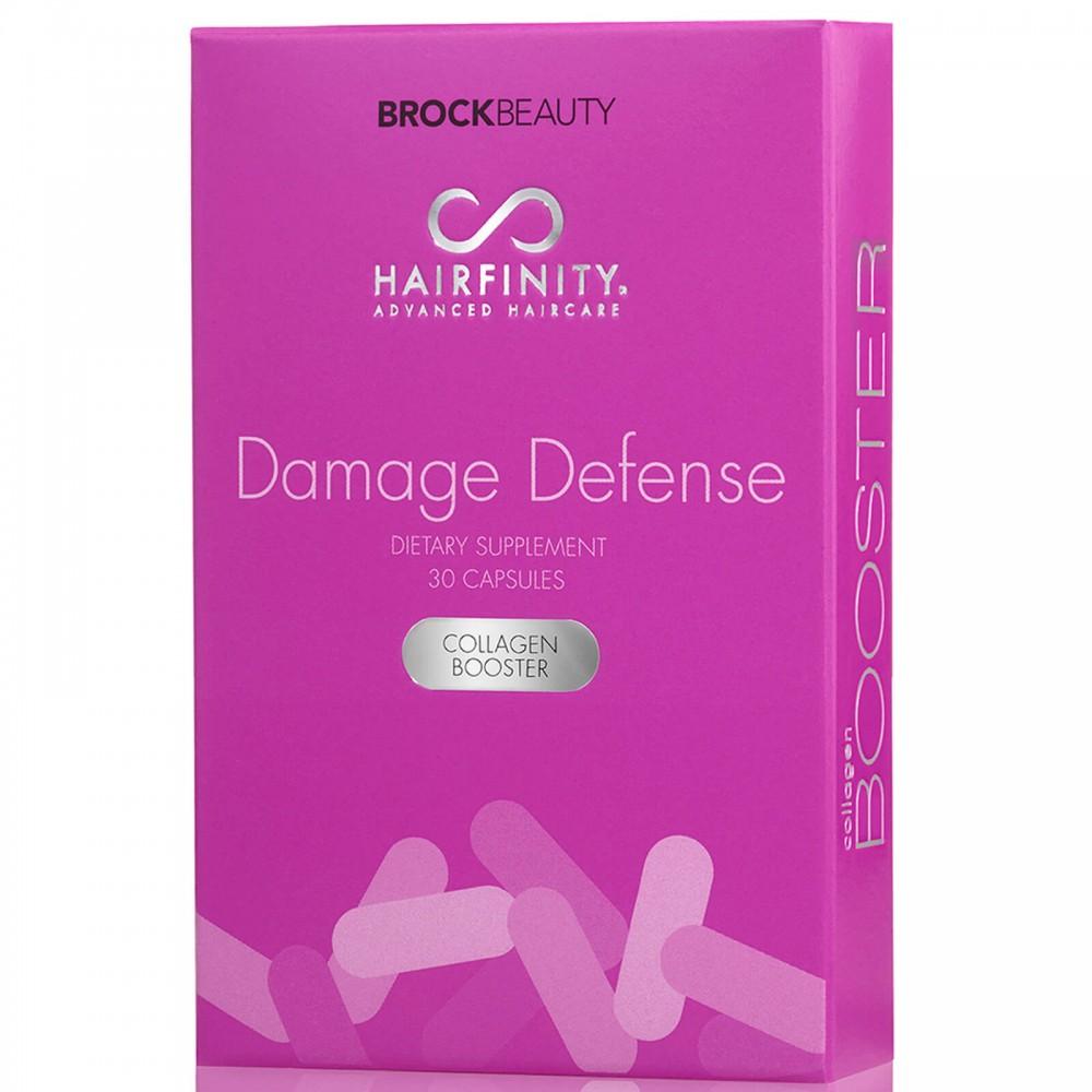Бустер с коллагеном для поврежденных волос - Hairfinity Damage Defense Collagen Booster