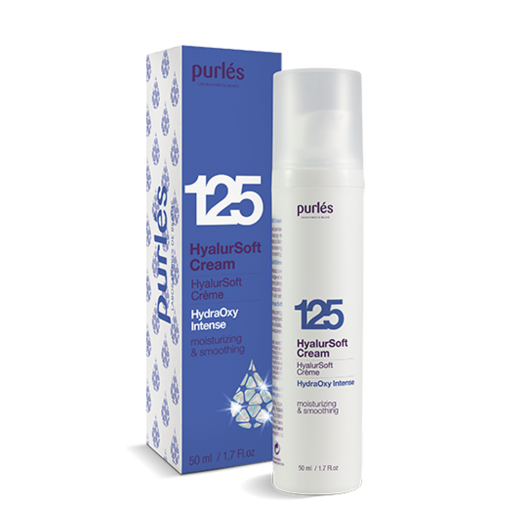 Гиалуроновый крем увлажняющий  - Purles 125 HydraOxy Intense HyalurSoft Cream