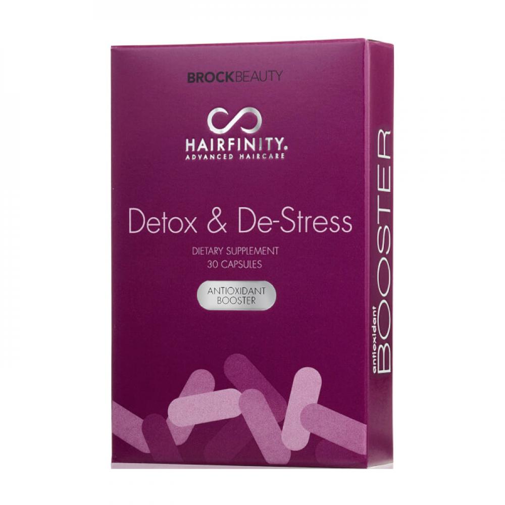 Бустер-антиоксидант детокс и антистрес - Hairfinity Destress & Detox Anti-oxidant Booster