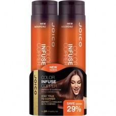 Набор для волос оттеночный, медь - Joico Color Infuse Copper Gift Pack