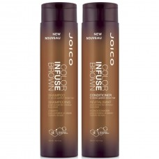 Набор для волос оттеночный, коричневый - Joico Color Infuse Brown Gift Pack