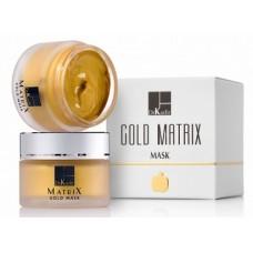 Золотая маска для увядающей кожи - Dr. Kadir Gold Matrix Gold Mask