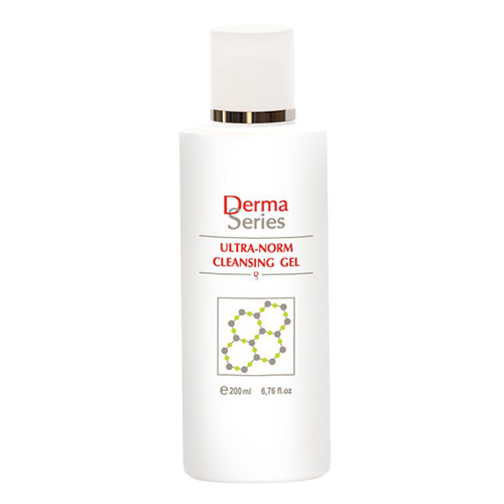 Нормалізуючий очищаючий гель - Derma Series Ultra-norm cleansing gel