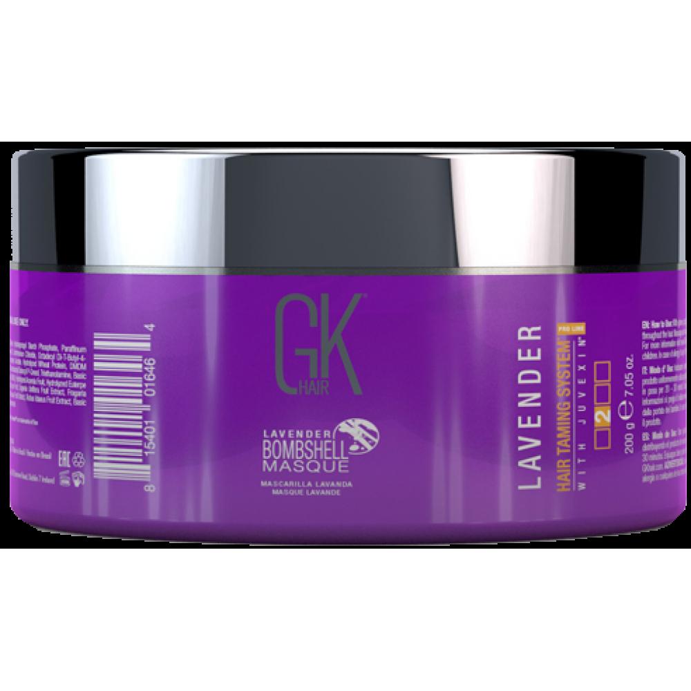 Маска лавандовий відтінок - GKhair Lavender Bombshell Masque