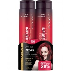 Набор для волос оттеночный, красный - Joico Color Infuse Red Gift Pack