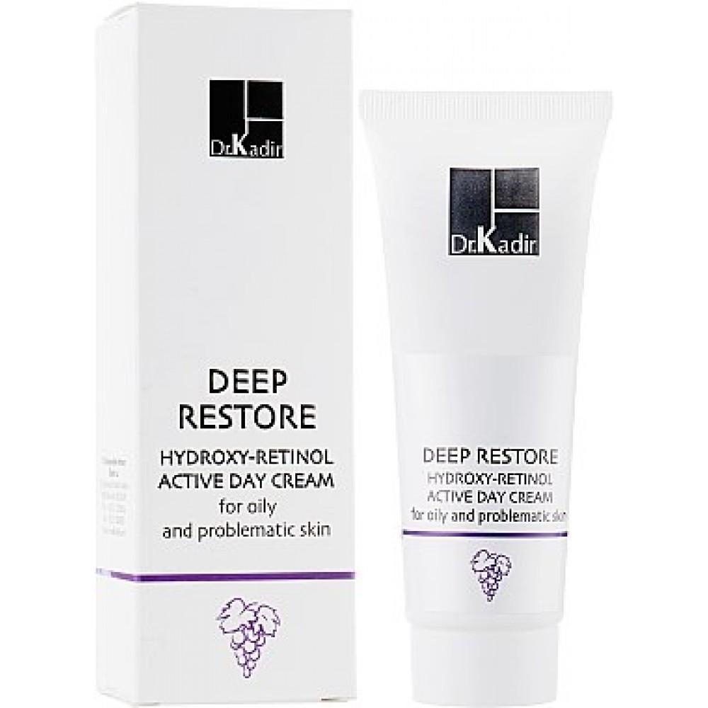 Дневной крем для жирной и проблемной кожи - Dr. Kadir Deep Restore Day Cream For The Oily And Problematic Skin