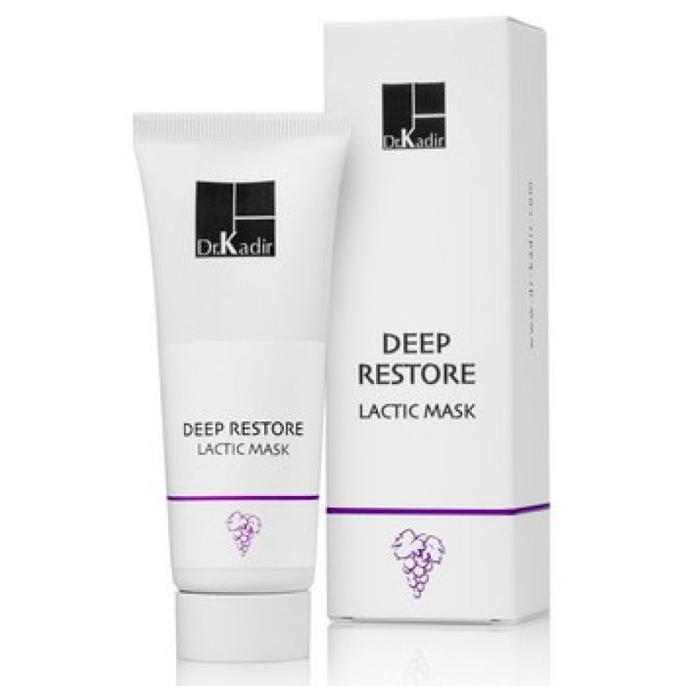 Молочна маска для обличчя - Dr. Kadir Deep Restore Lactic Mask