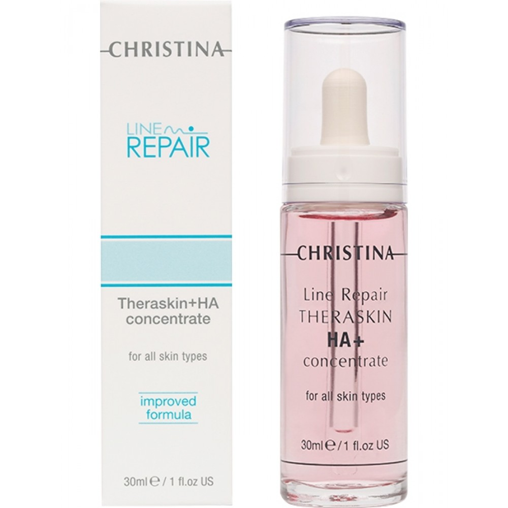 Регенерирующие увлажняющие капли Тераскин с гиалуроновой кислотой - Christina Line Repair-Theraskin + HA