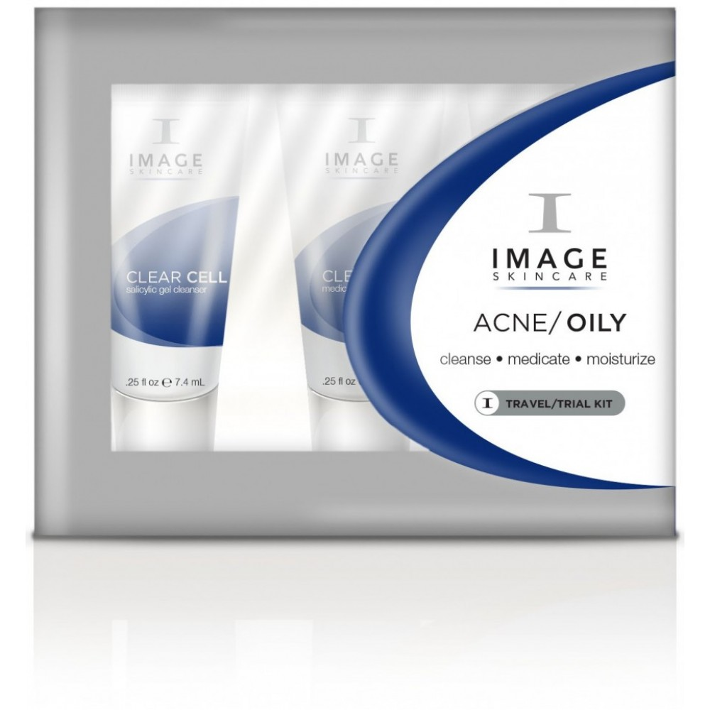 Пробный набор - Image Skincare Acne/Oily Travel/Trial Kit