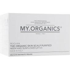 Концентрированный фермент пилинга для деликатного очищения и регенерации - My Organics The Organic Skin Balancing Preparation 12 Vials Box