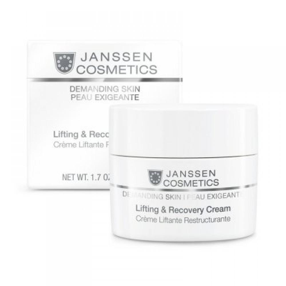 Восстанавливающий крем с лифтинг-эффектом - Janssen Cosmetics Lifting & Recovery Cream