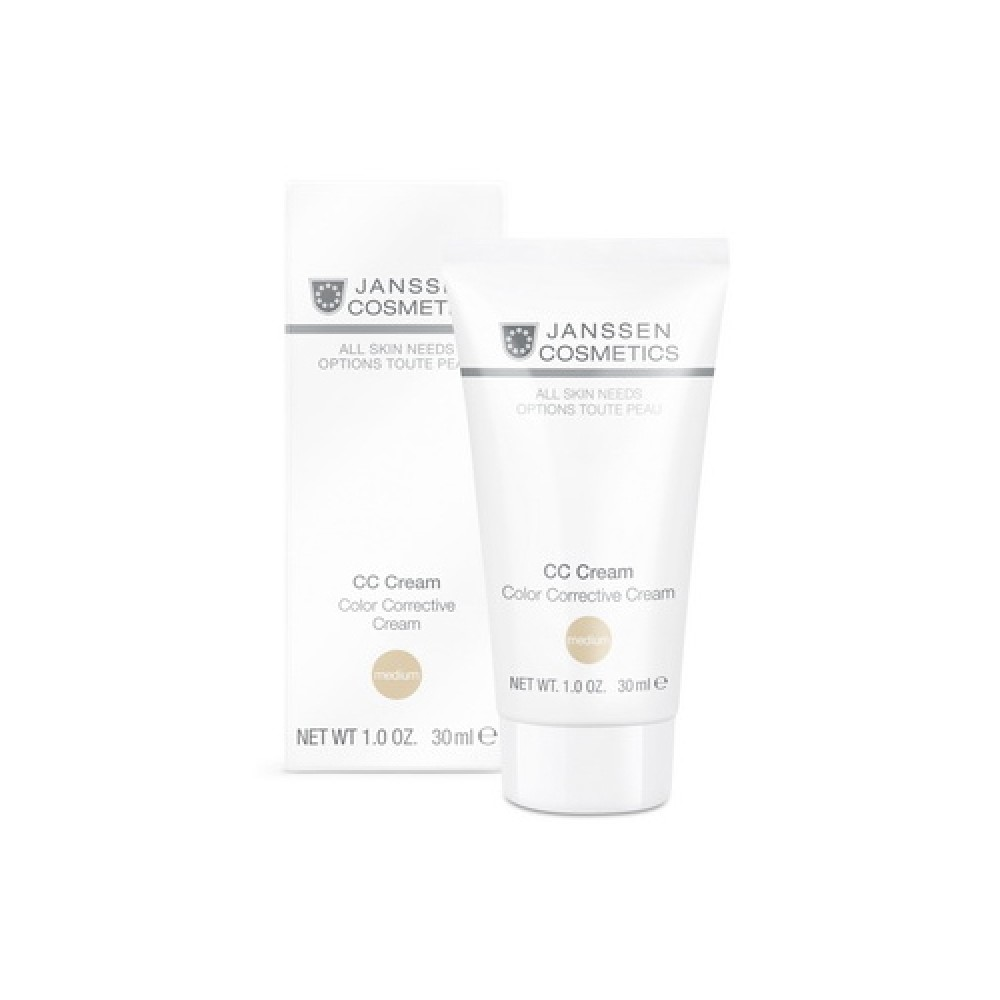 Тональный СС-крем SPF-30 - Janssen Cosmetics CC cream Medium