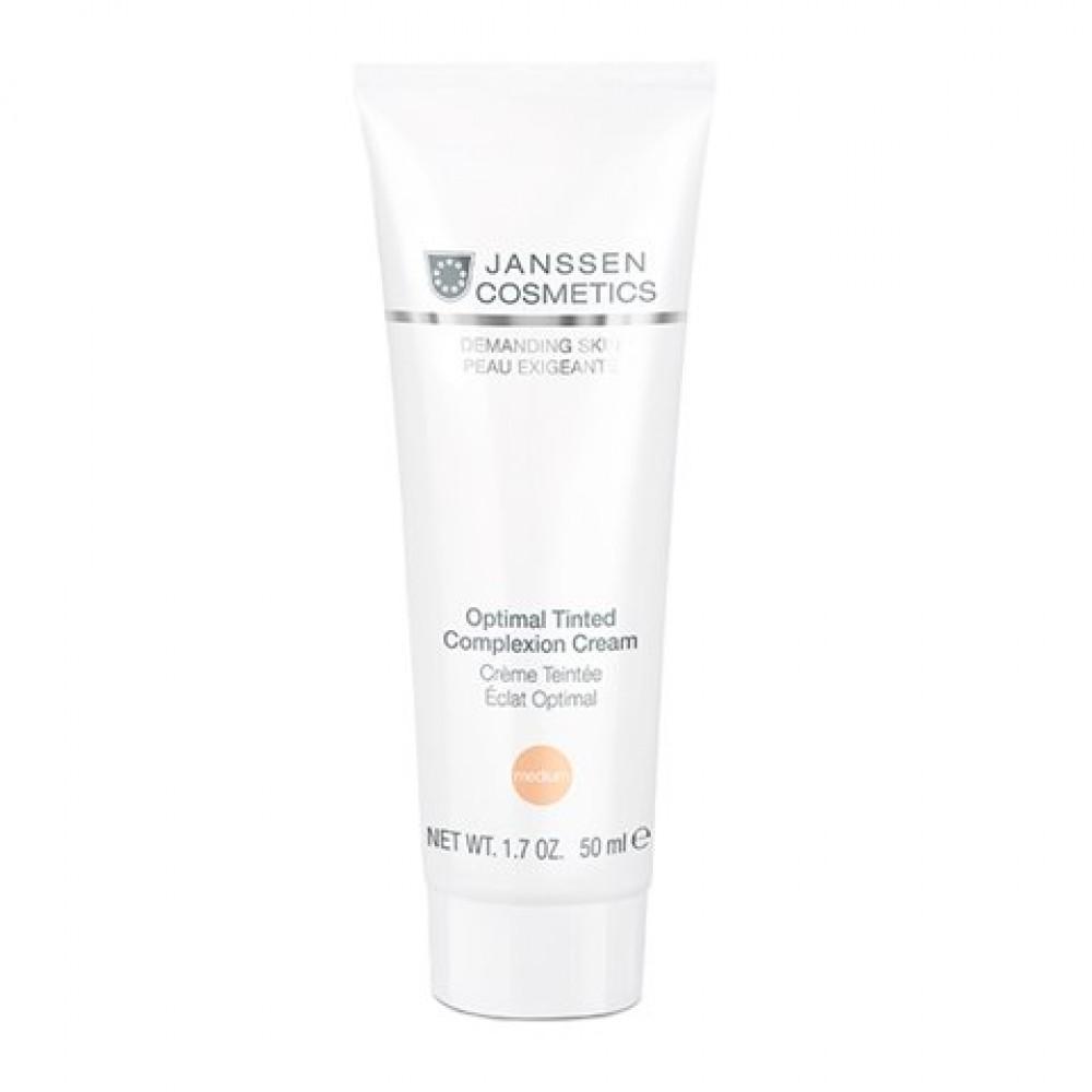 """Дневной тонирующий крем """"Medium"""" - Janssen Cosmetics Optimal Tinted Complexion Cream Medium"""