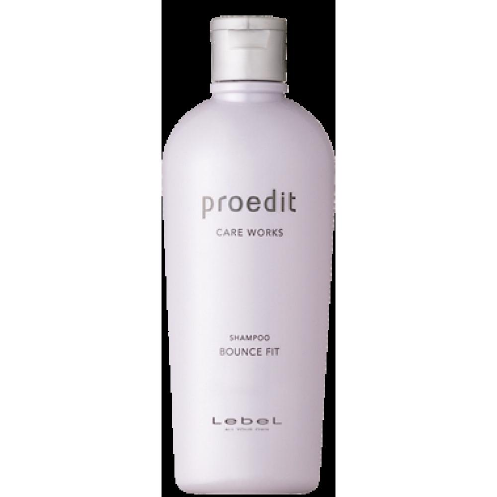 Восстанавливающий шампунь для сильно поврежденных волос - Lebel Proedit Bounce Fit Shampoo