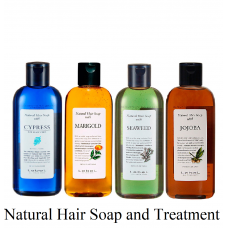 Natural Hair Soap and Treatment