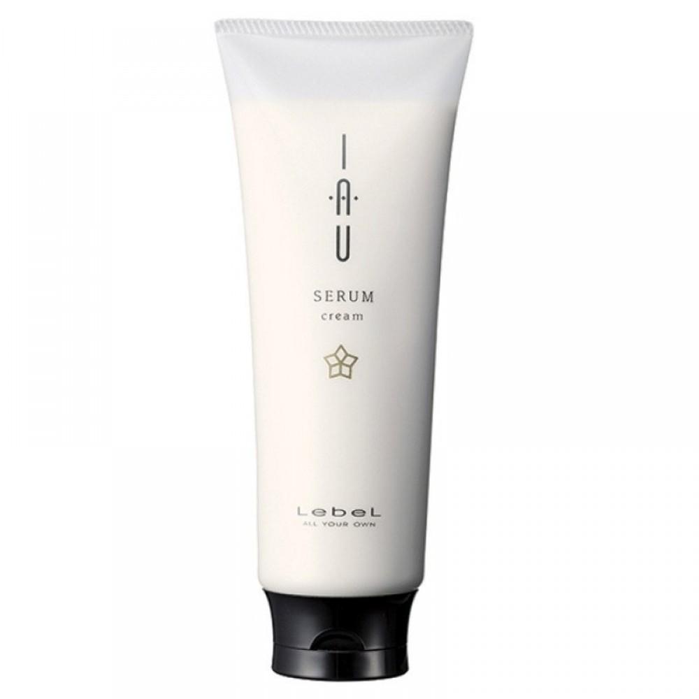 Аромакрем для увлажнения и разглаживания волос - Lebel IAU Serum Cream