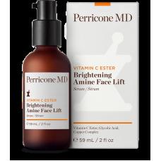 Осветляющая подтягивающая сыворотка для лица - Perricone MD Vitamin C Ester Brightening Amine Face Lift