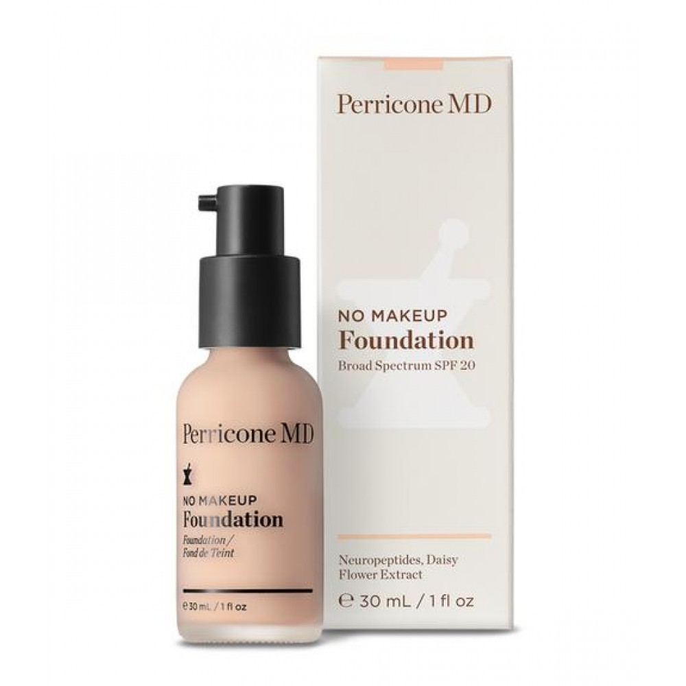 Тональная основа с SPF 20 - Perricone MD No Makeup Foundation