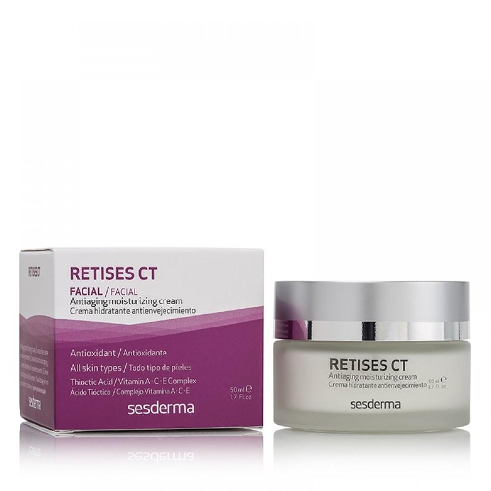 Антивозрастной увлажняющий крем против морщин - SeSDerma Retises Anti-aging Moisturizing Cream CT