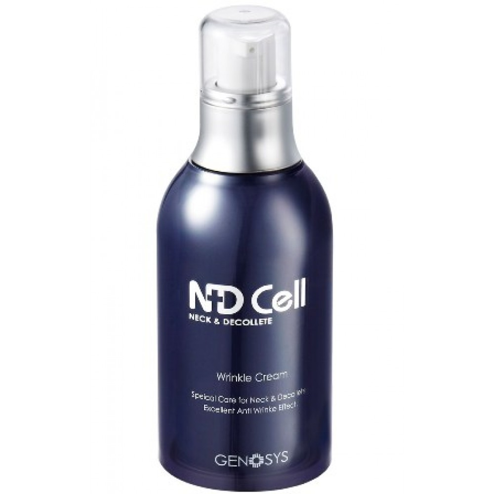 Крем против морщин для области шеи и декольте - Genosys ND Cell Anti-Wrinkle Cream (NWC)