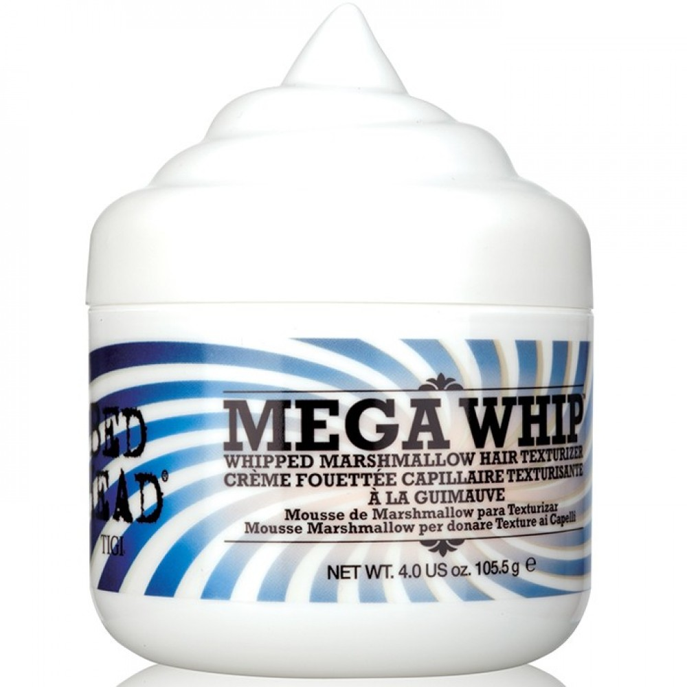 Зефирная пенка для волос для сохранения формы прически - Tigi Bed Head Candy Fixation Mega Whip
