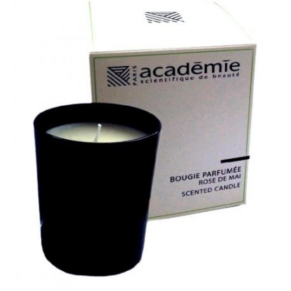 """Ароматическая свеча """"Майская Роза"""" -  Academie Aromatherapie"""