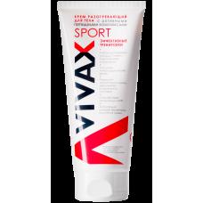 Крем разогревающий для тела с активными пептидными комплексами - VIVAX Sport