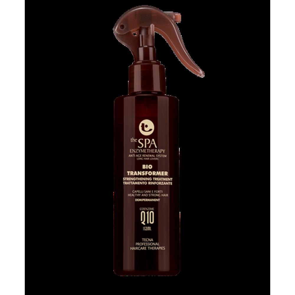 Профессиональное средство для восстановления волос - Tecna SPA Q10 - BIO TRANSFORMER