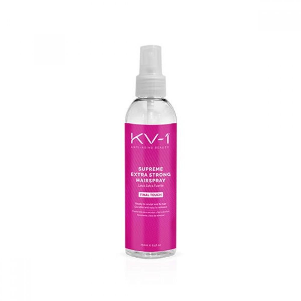 Жидкий лак для волос мелкодисперсный - KV-1 Supreme extra strong hair spray