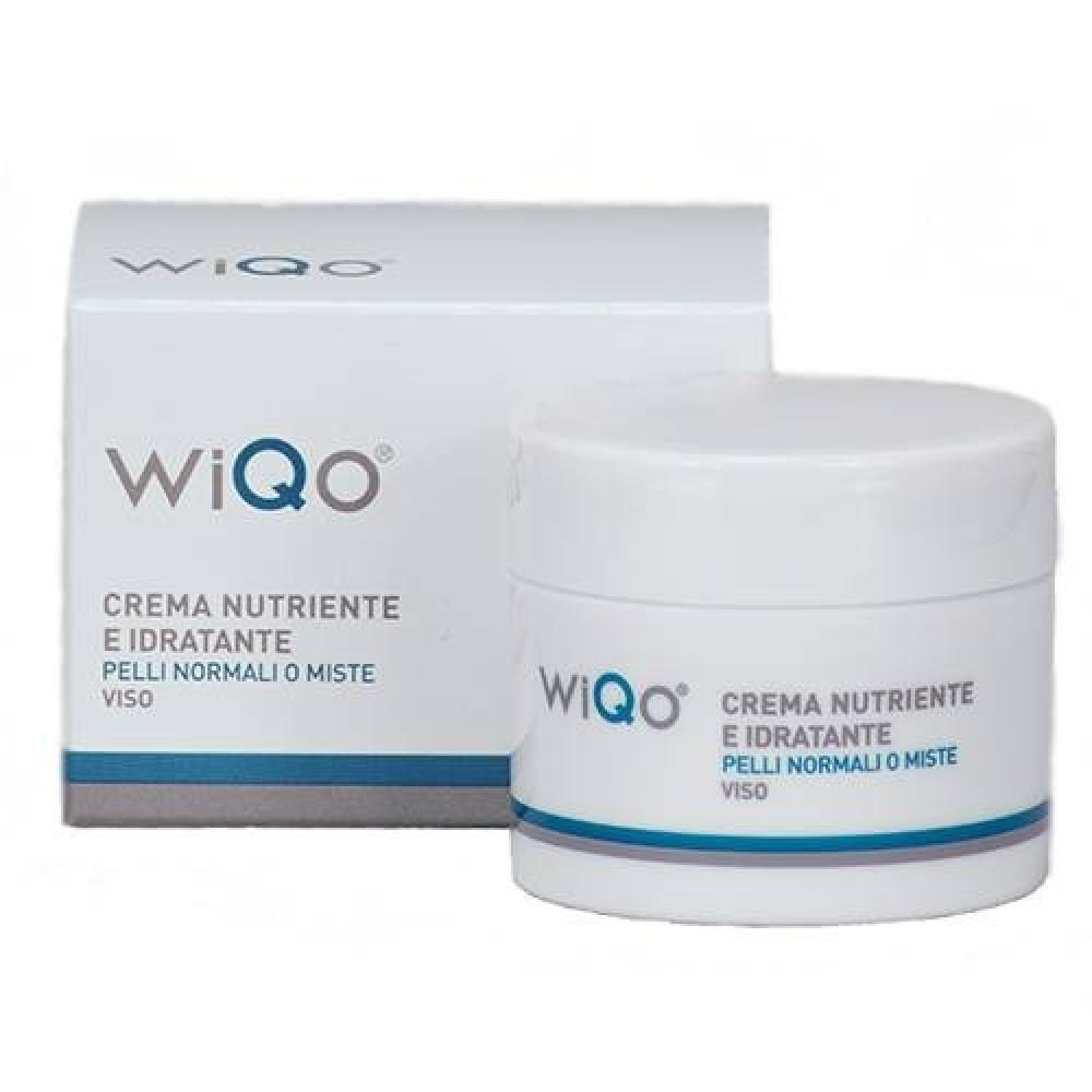 Питательный и увлажняющий крем для нормальной и комбинированной кожи - WiQo Crema Nutriente e Idratante Viso Pelli Normali o Miste