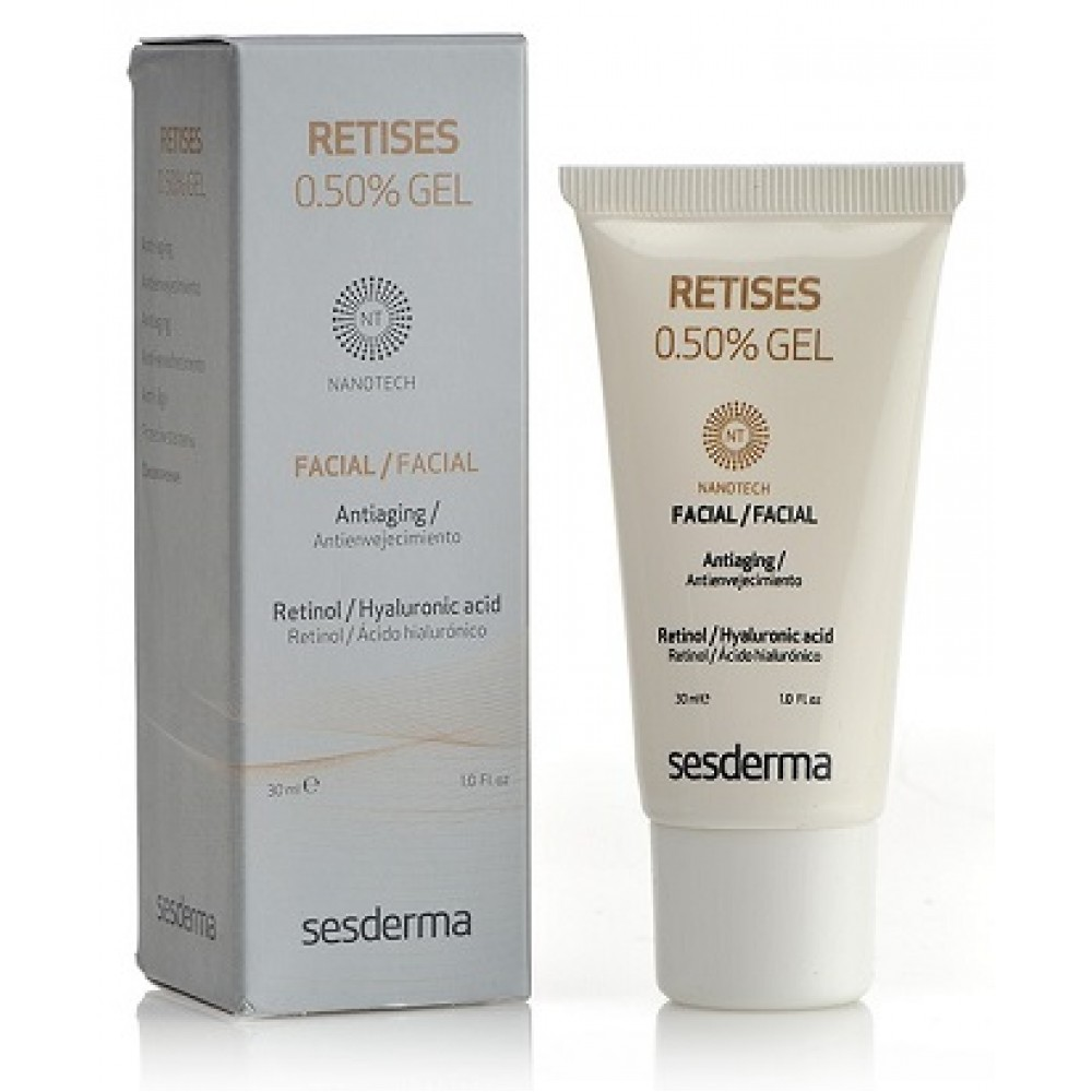 Гель с ретинолом 0,5% - SesDerma Retises Nano Gel 0,5%