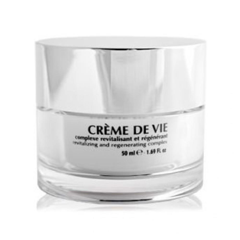 Восстанавливающий защитный крем для сухой и зрелой кожи - Simone Mahler Creme de Vie