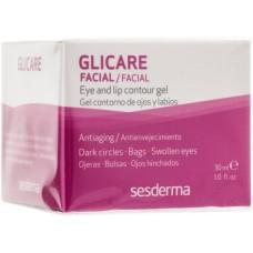 Гель для контура глаз и губ - SesDerma Laboratories Glycare Eye and Lip Contour Gel
